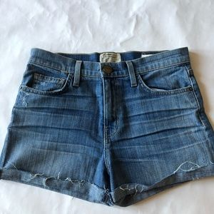 Current Elliott jean shorts. The bicycle short